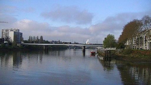 Nantes Pont Aristide-Briand