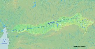 Einzugsgebiet der Narmada