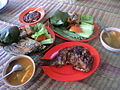 Nasi Timbel and grilled fish.jpg