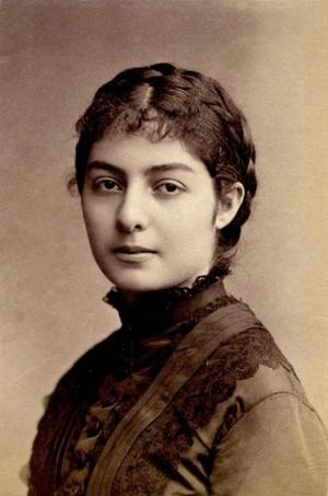 Natalie of Serbia - Image: Natalie of Serbia c 1875