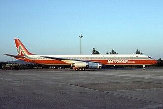 Nolisair - A Nationair Douglas DC-8-63 in 1987