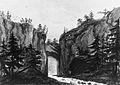 Natural Bridge, Virginia (Copy after an Engraving in François Jean, Marquis de Chastellux, Travels in North America, 1787) MET ap42.95.45.jpg