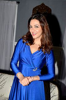 Nauheed Cyrusi Indian actress, model, and VJ