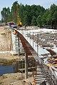Naujojo tilto statyba per Meros upę - panoramio (2).jpg