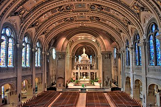 Basilica of Saint Mary (Minneapolis) - Interior of the Basilica of Saint Mary