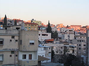 Nazareth which is a mixed settlement of Muslim...