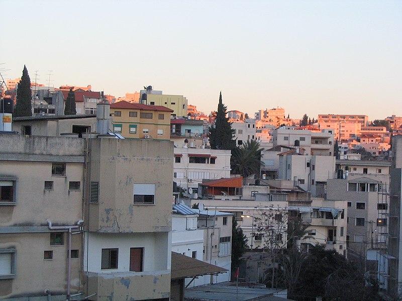 File:Nazareth neighbourhood at sunset.jpg