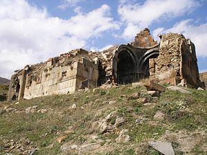 Neghuts Monastery - Southeast view of S. Astvatsatsin Church at Neghutsi Vank, 10th-11th centuries