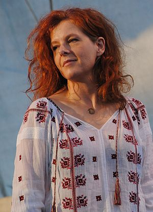 Neko Case - Case performs at the 2012 Forecastle Festival in Louisville, Kentucky.