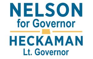Marvin Nelson - Gubernatorial campaign logo