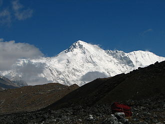 David Sharp (mountaineer) - Cho Oyu (8,201 m (26,906 ft) high), where Sharp took a 2002 expedition