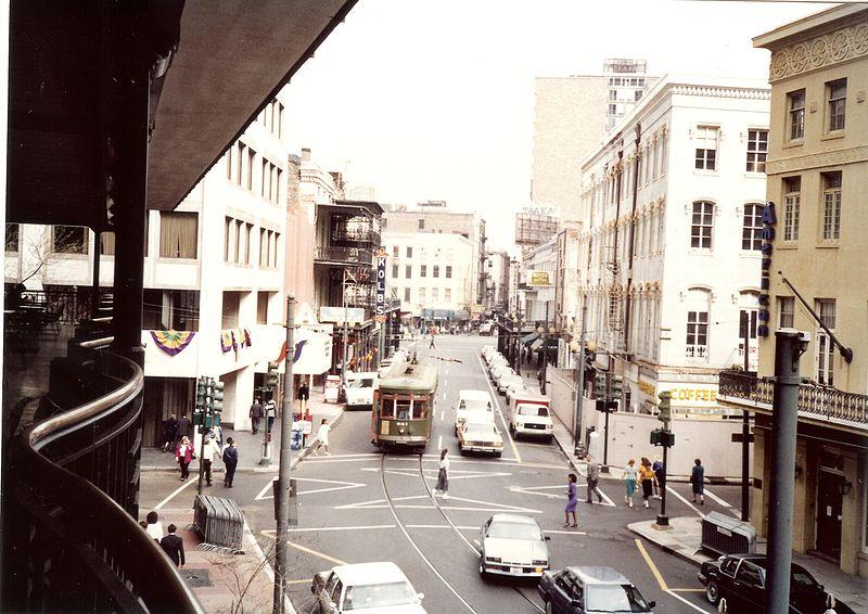 File:New Orleans CBD St. Chalres Avenue 1991 Towards Common Street.jpg