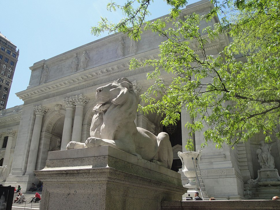 New York Public Library Lion May 2011