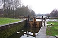 New bottom gates, lock 4 on the Wigan Flight - geograph.org.uk - 370203.jpg