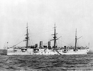 USS Newark (C-1) - USS Newark