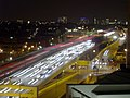 Night-time traffic on the Westway - geograph.org.uk - 1060473.jpg