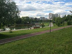 Skyline of Ochakovo-Matveyevskoye縣