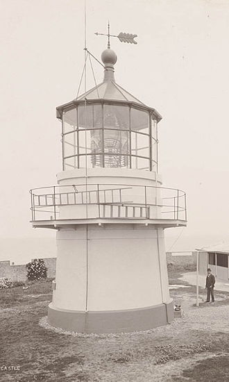 Nobbys Head Light - Nobbys Head Light, 1902