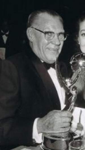 Norbert Brodine - Norbert Brodine at the 1957 Emmys