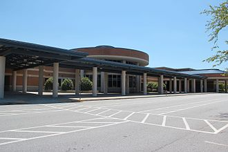 Norcross High School - Norcross High School front entrance