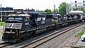 Norfolk Southern Railway - 6935, 9357, & 8379 diesel locomotives (Marion, Ohio, USA) 1 (43223034831).jpg