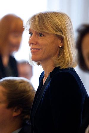 Anniken Huitfeldt - Image: Norges kulturminister Anniken Huitfeldt under ett nordiskt kulturministermote vid Nordiska Radets session 2011 i Kopenhamn