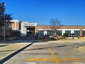 Image showing front of North Garland High School