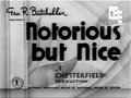 Notorious but Nice Richard Thorpe 1933.png
