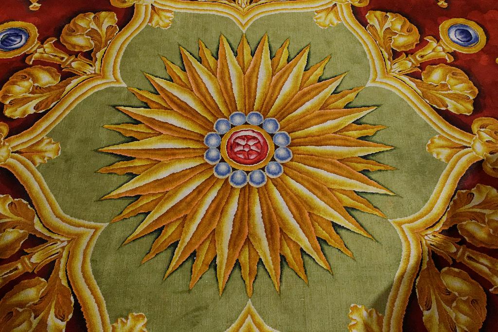 Notre-Dame de Paris - Tapis monumental du chœur - 025.jpg