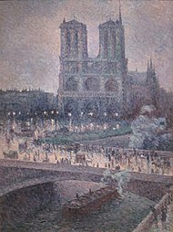Notre Dame by Maximilien Luce, San Diego Museum of Art.JPG