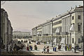 Nouvelle rue Michaïlowskaia ; percée dans la perspective en face du nouveau palais Michel, album russe de Lisinka Poirel.jpg