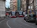 Nové Město, Spálená, tramvaje 22.jpg