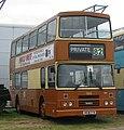 Nu-Venture bus 100 (H838 PTW) ex-Dublin Bus RH33 (90 D 1033) 1990 Leyland Olympian Alexander (Belfast), Maidstone Corporation centenary livery, Showbus 2004.jpg