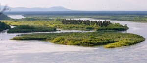 Geography of Alaska - Nushagak River in Southwest Alaska.