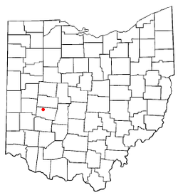 Location of Lawrenceville, Ohio