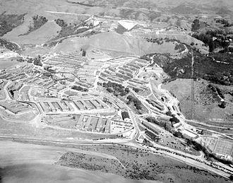 Naval Hospital Oakland - Naval Hospital, Oak Knoll circa 1946