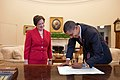 Obama signing Kagan's commission.jpg