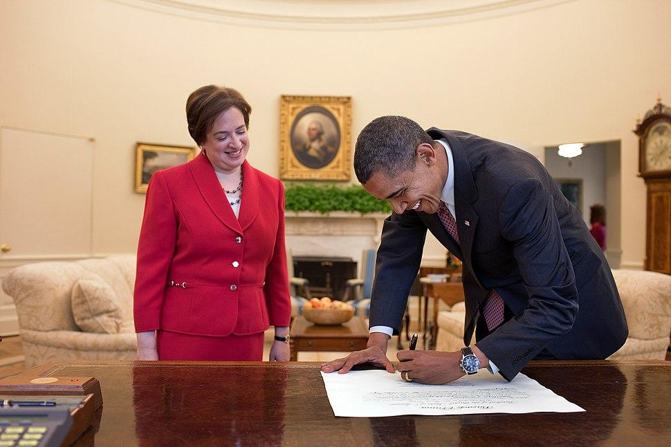 Obama signing Kagan's commission