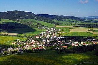 Červená Voda (Ústí nad Orlicí District) - Prospect of Červená Voda