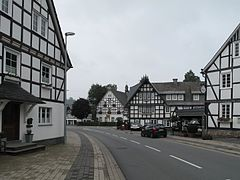 Oberkirchen, straatzicht foto2 2010-08-12 10.39.JPG