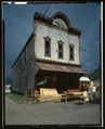 Oblique view, front elevation - Christian Hall, Elk Avenue, Crested Butte, Gunnison County, CO HABS COLO,26-CRBU,2-2 (CT).tif