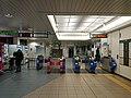 Odaiba-kaihinkōen Station, at Daiba, Minato, Tokyo (2019-01-01) 02.jpg