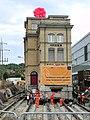 Oerlikon - 'Gleis 9' während der Gebäudeverschiebung 2012-05-22 18-44-22 (P7000).JPG