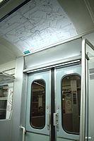 Offenbach, stanice S-Bahnu, dveře vlaku.jpg
