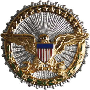 Bruce A. Carlson - Image: Office of the Secretary of Defense Identification Badge