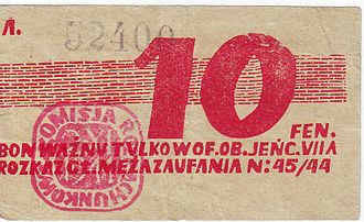 Token money - Token money from Poland