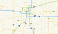 Oklahoma State Highway 130 map.png