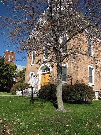 National Register of Historic Places listings in Allamakee County, Iowa - Image: Old Allamakee County Courthouse