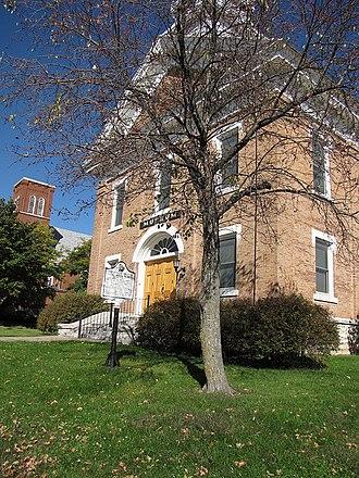 Old Allamakee County Courthouse (Waukon, Iowa) - Image: Old Allamakee County Courthouse