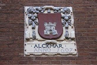 Alkmaar - Old Alkmaar plaque, Amsterdam Museum